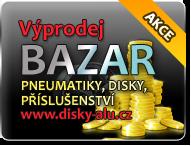Výprodej ALU disky, bazar
