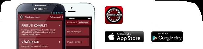 Mobilní aplikace - Icarauto